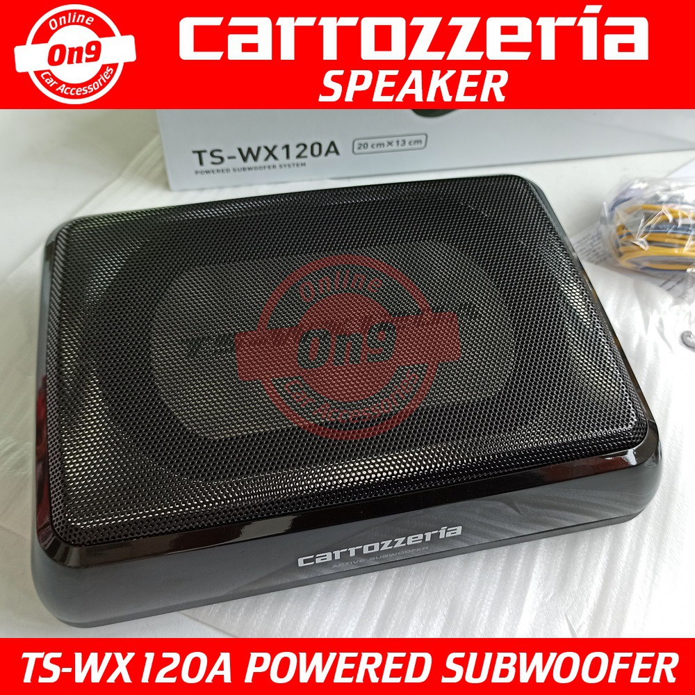 Carrozzeria TS-WX120A Powered Subwoofer System