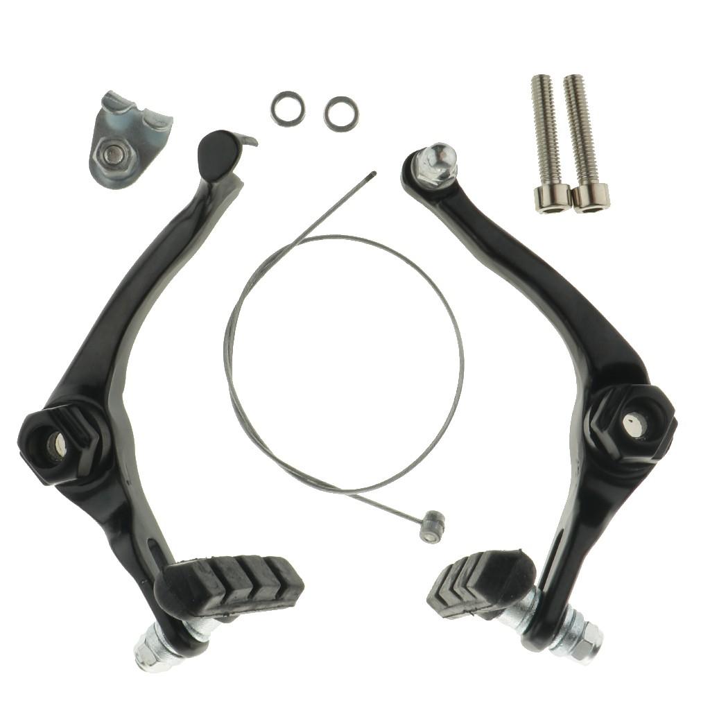 Prettyia Aluminium BMX Bike U-Brake Caliper Front Rear Cycling Accessories