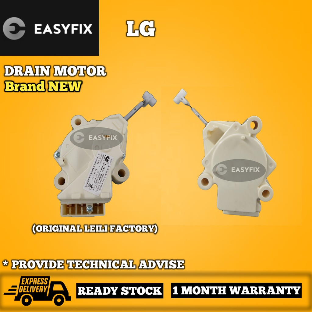 (ORIGINAL FACTORY) WF-T700 / WF-T800C / WF-T950 / WF-T968TH LG WASHING MACHINE DRAIN MOTOR (MOTOR BUANG AIR)