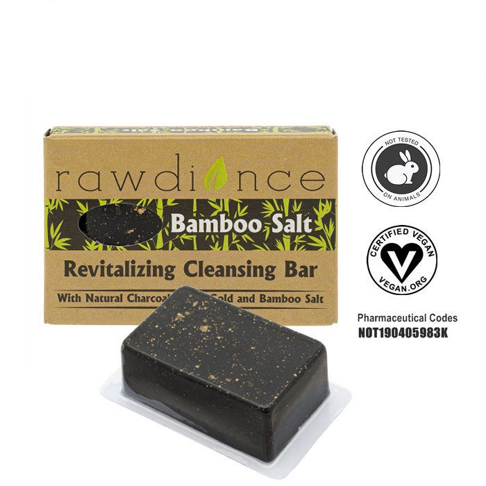 MALAYSIA: 80g SABUN NANO GOLD and GOLD FLAKES 24k /Cleansing Bar Bamboo Salt Body Soap