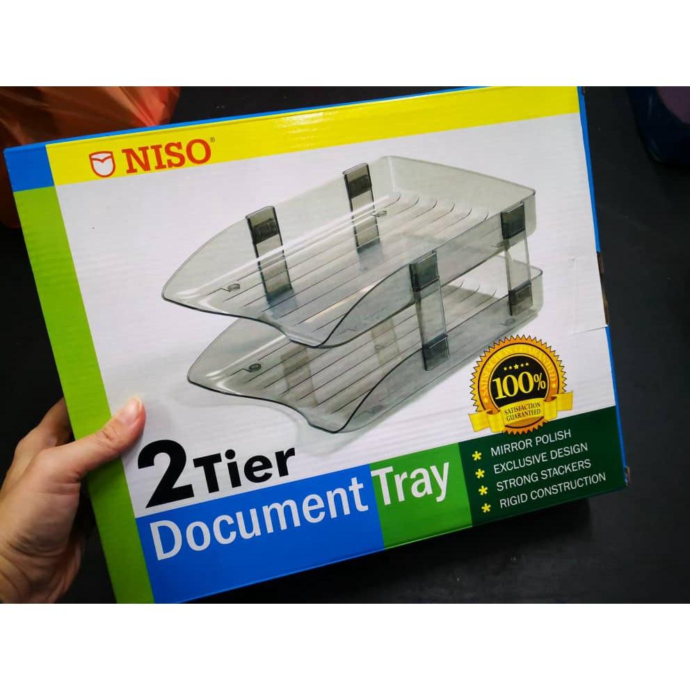 Niso 2 Tier Document Tray No.8220