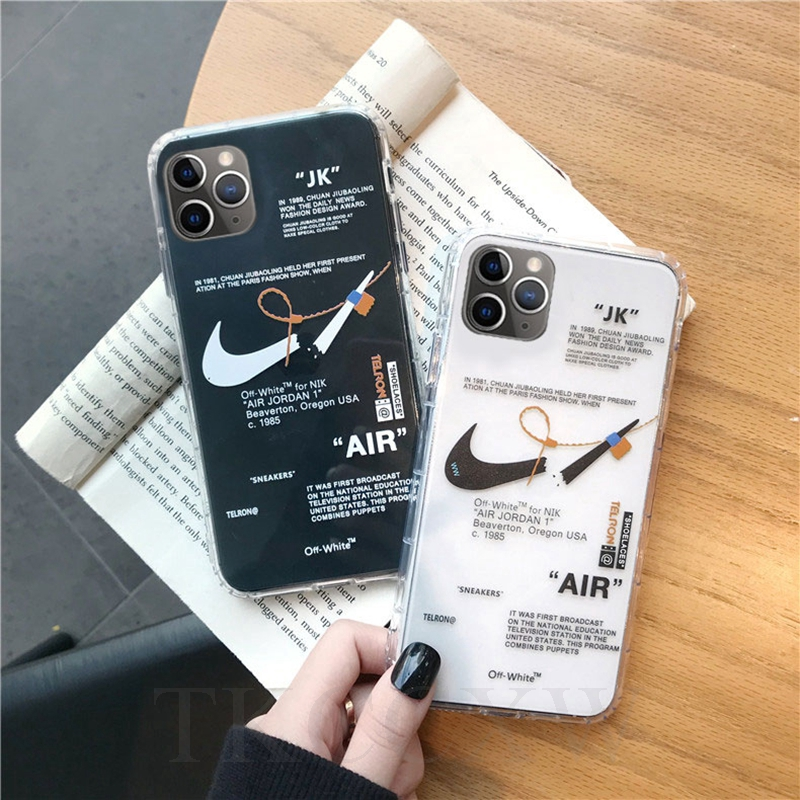 Coque iphone 11 nike off white