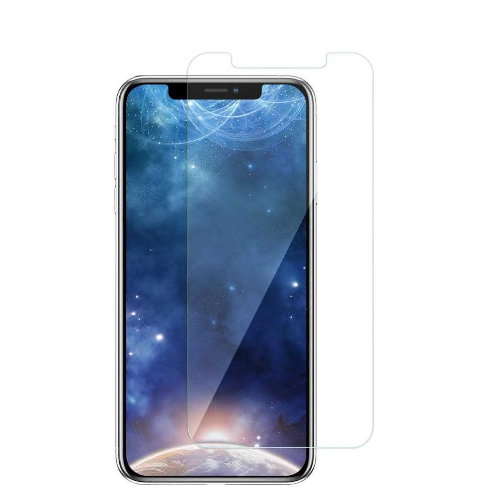 Magneto Magnetic Adsorption Case Clear Tempered Glass Black Clear i-phone XS Max (Bc1)