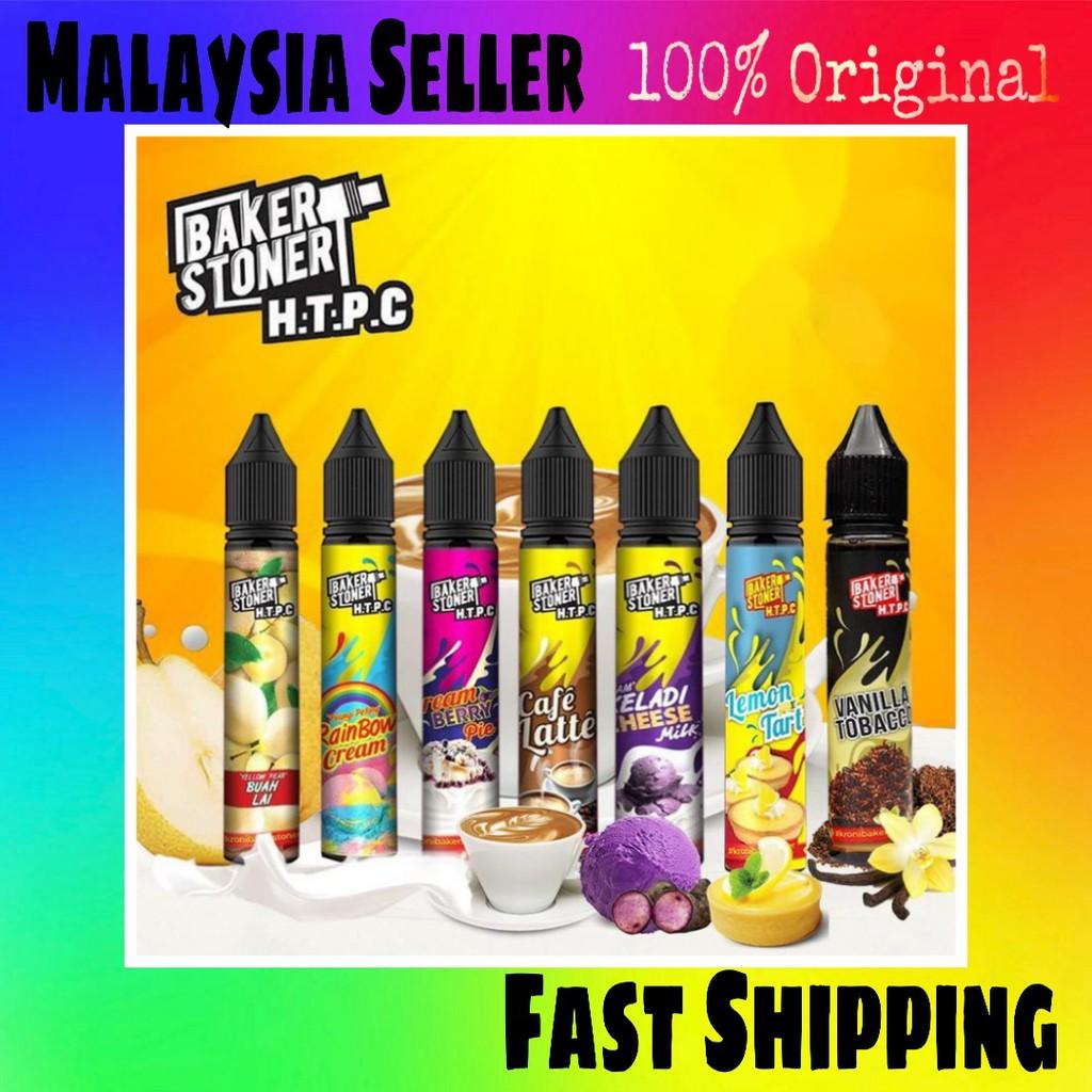 Htpc Baker St0ner 30ml Keladi Cheese Cafe Latte Lemon Tart Buah Lai Rainbow Cream Shopee Malaysia