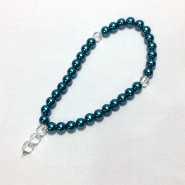 Tasbih Mutiara (Cobalt Blue)
