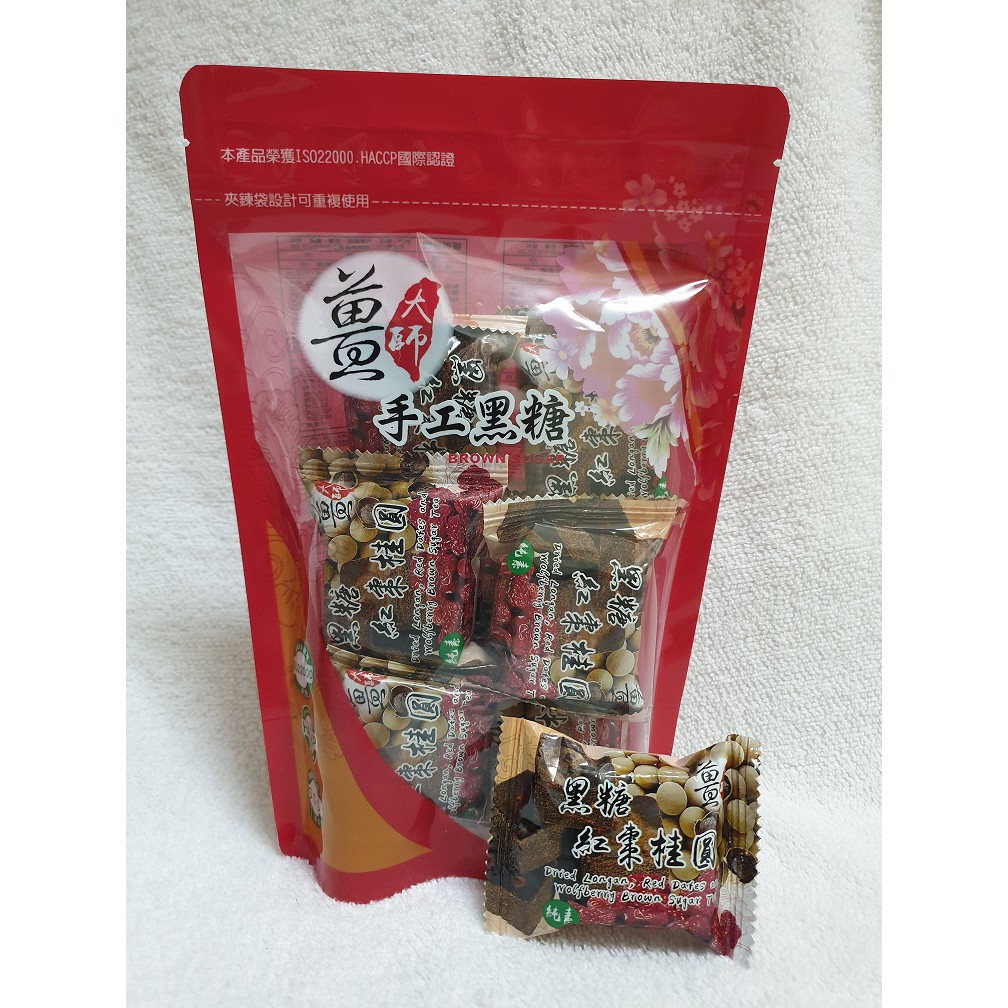 🎉🎉NEW!! 姜大师手工黑糖姜母茶(黑糖红枣桂圆)Taiwan\'s Brown Sugar Ginger Tea - Dried Longan & Red Dates with Brown Sugar 400g