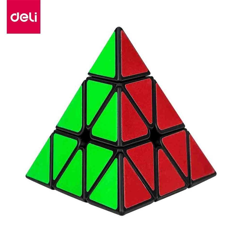 Xiaomi Youpin Deli Original 3x3x3 pyramid Magic Cube pyramid Cubo Magico professional Puzzle education toys for childre