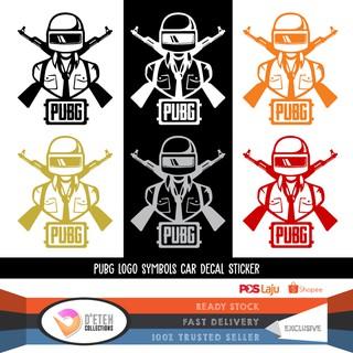 PUBG car stickers Decal PlayerUnknown's BattleGrounds sticker