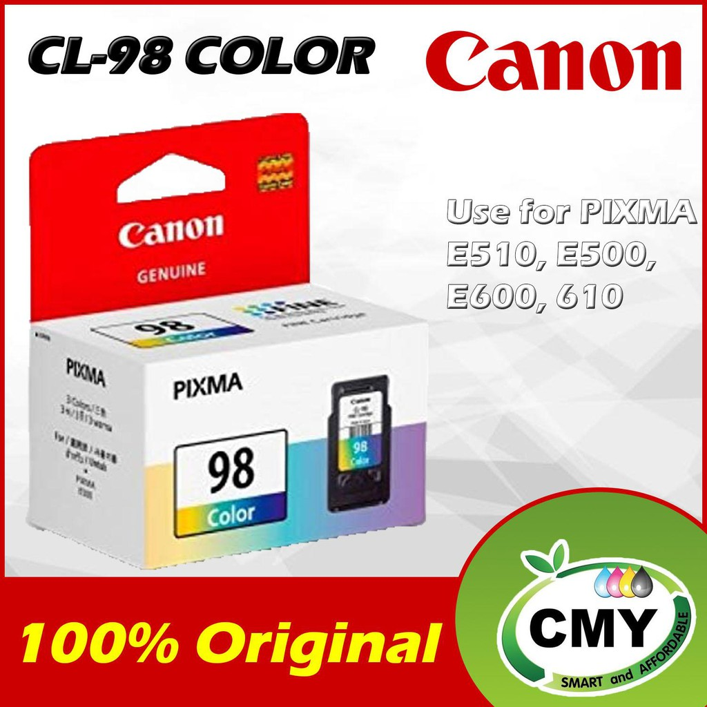 Genuine Original Ink Canon CL-98 CL98 CL 98 (15ML)