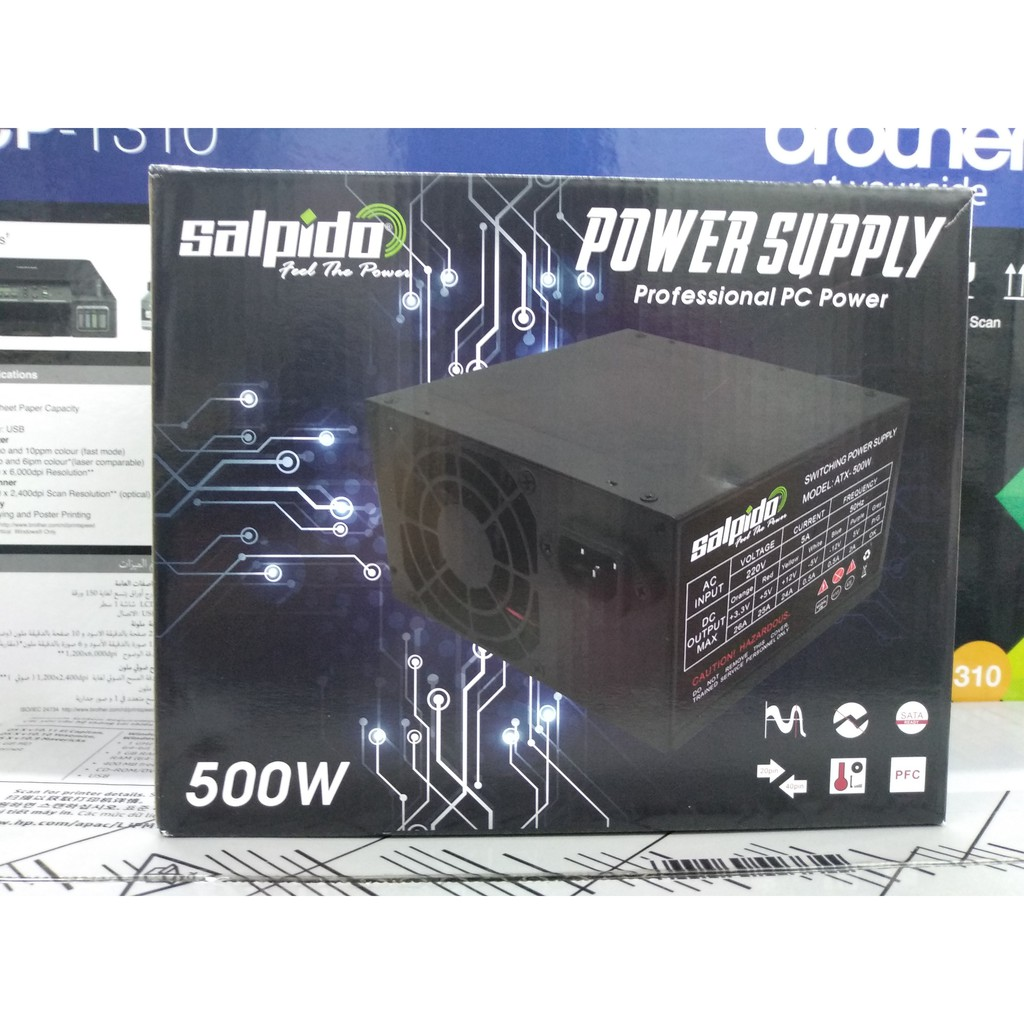 Official Avf Gaming Power Supply With Extreme 750w Shopee Malaysia Imperion 500 Watt Atx 4pin