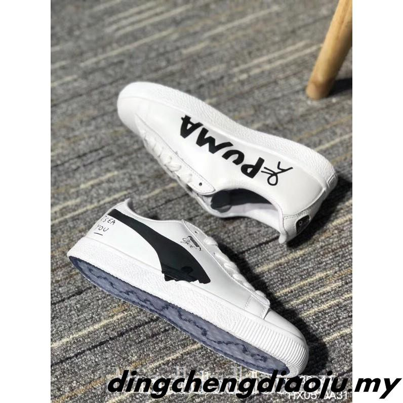 new arrivals bd4b2 d1afc Newest Puma Clyde x Shantell Martin Women Men Sneakers Shoes