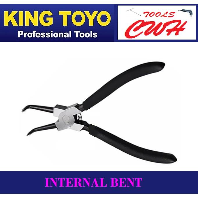 "King Toyo 7"" Circlip Plier    STANLEY BONDHUS M10 SATA SATAGOOD"