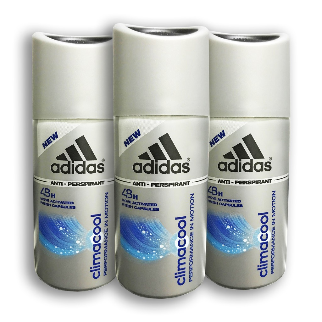 huge discount 2ef05 aec4b 3x Adidas Climacool Men Antiperspirant Travel Set Deo Spray, 35ml