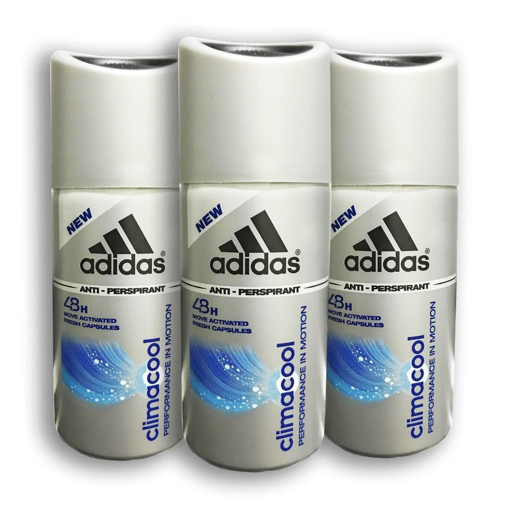 huge discount b5609 ccedc 3x Adidas Climacool Men Antiperspirant Travel Set Deo Spray, 35ml