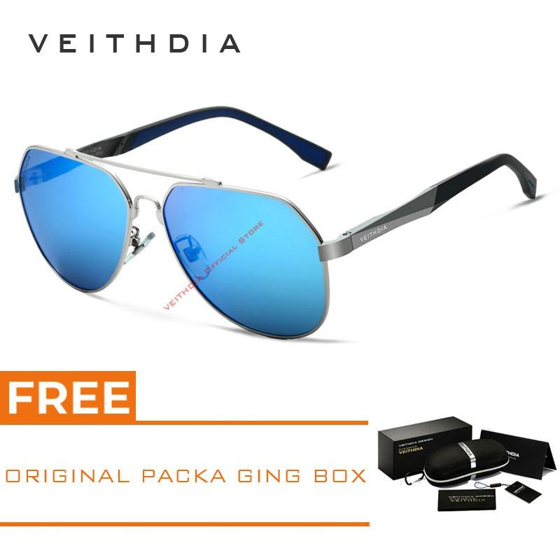 ce037bd291 Polarized Men s Retro Outdoor Aviator Sunglasses Driving Glasses Eyewear