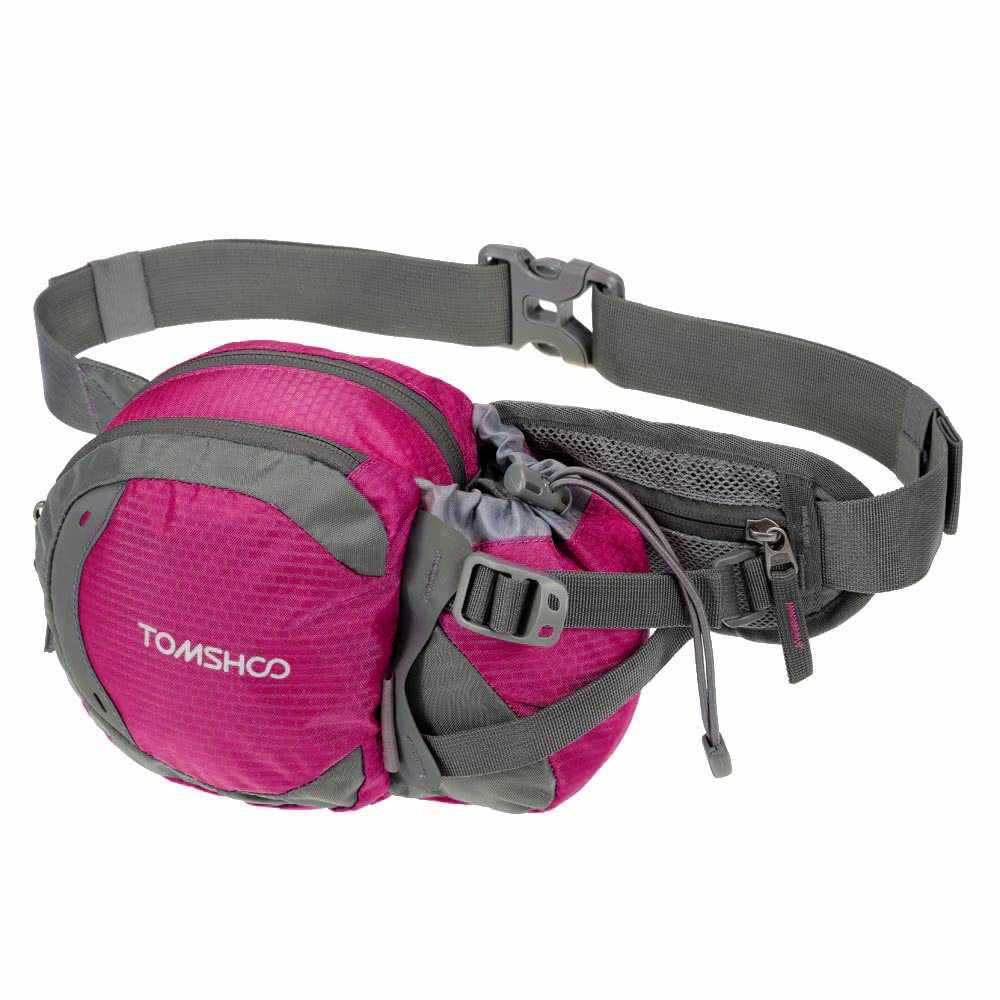 1c11b1eef478 TOMSHOO Water-resistant Outdoor Waist Bag Sports Waist Pack for ...