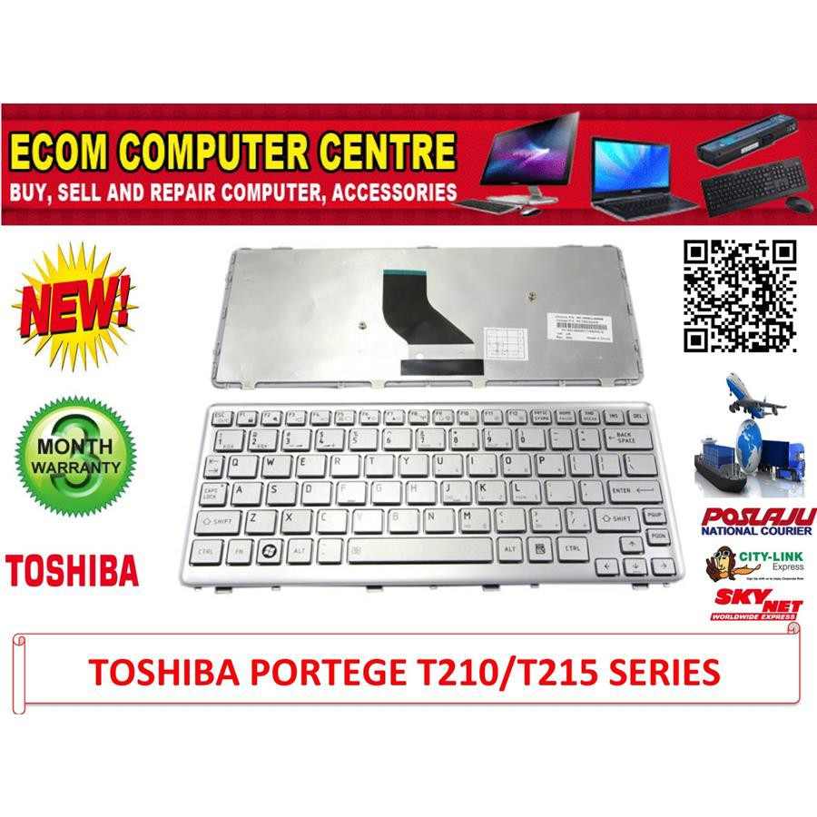 Toshiba 15v 5a 63x30 Portege 2000 3500 4000 M100 Adapter Shopee Keyboard Laptop For Satellite U400 U500 U505 Series M800 M900 T130 T135 Malaysia