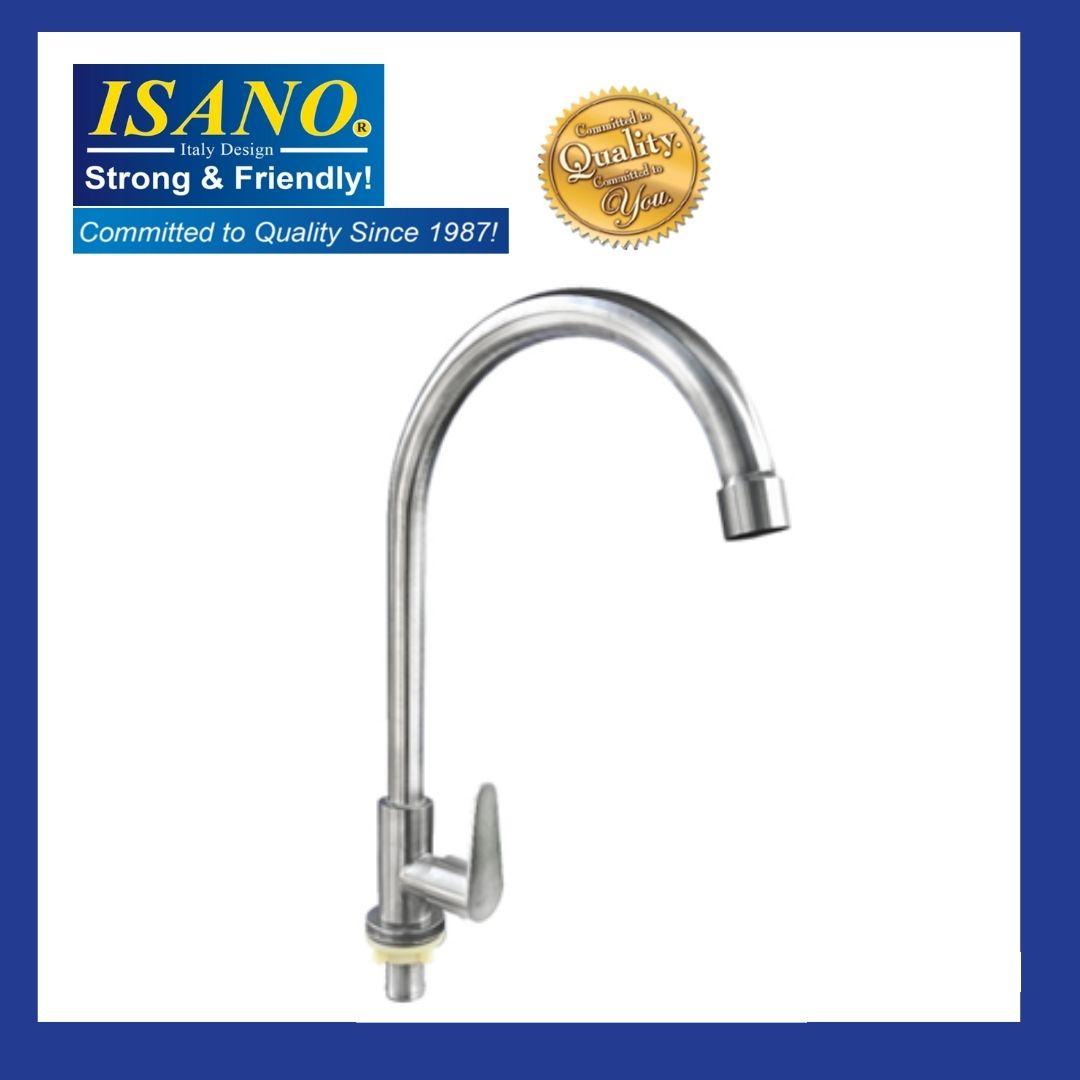 ISANO 1100SI Kitchen Sink Faucet Stainless Steel SUS 304 PILLAR TYPE