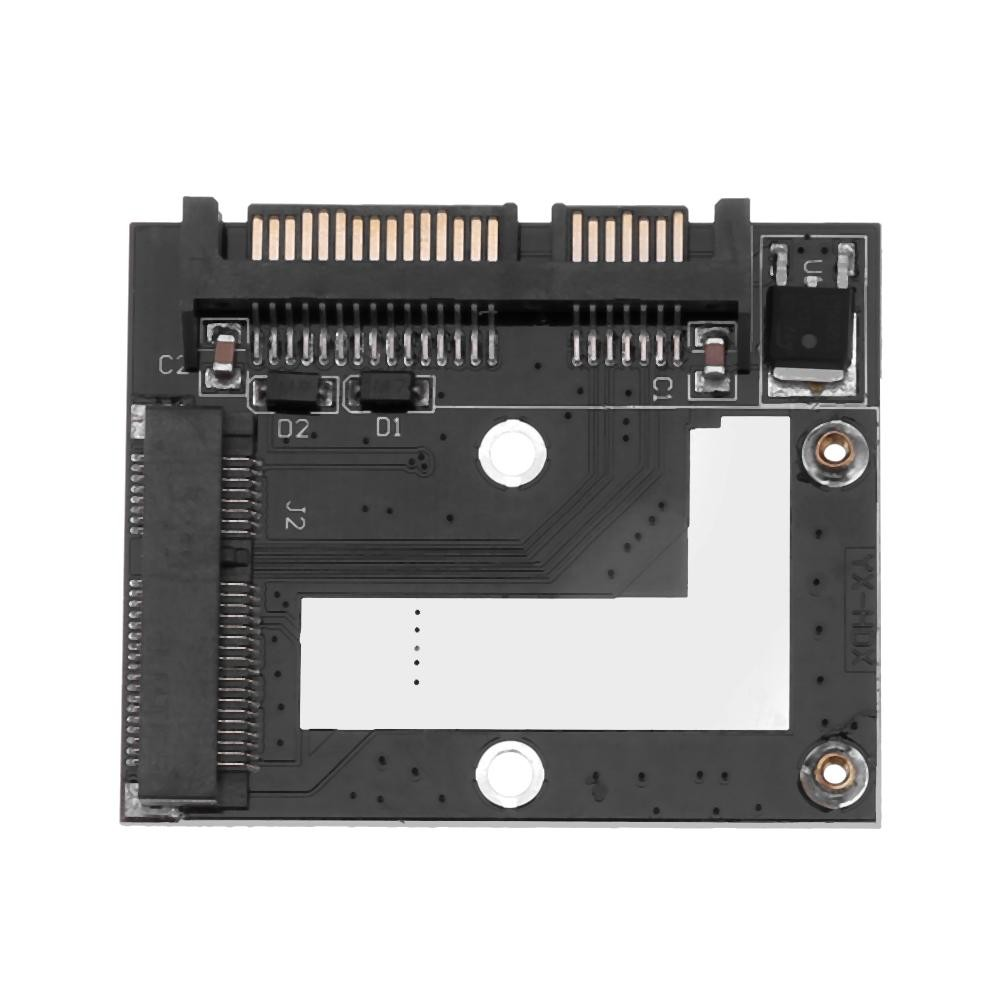 Mini PCI-e mSATA SSD to 2.5 inch SATA 22 Pin Adapter Converter Drive Enclosure