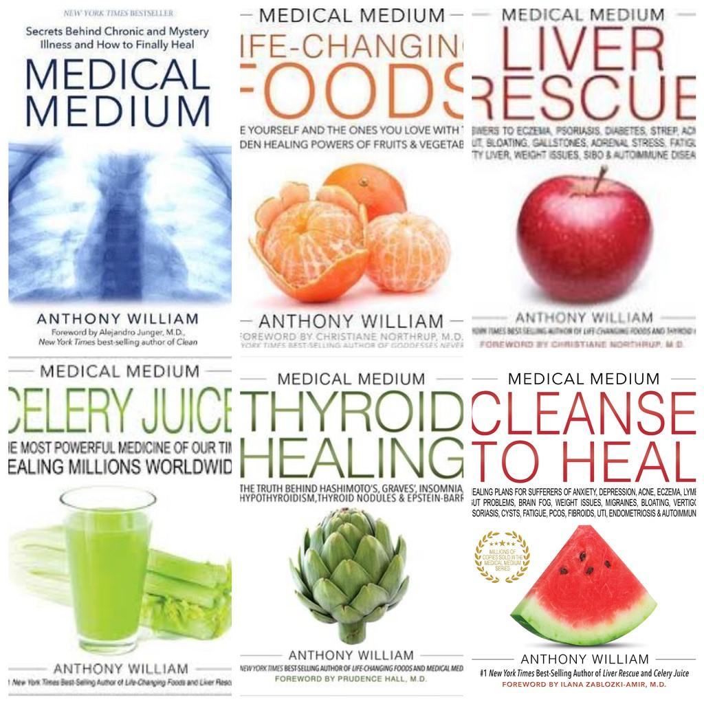 Ebook Medical Medium by Anthony William Bundle 6 Ebook | Shopee Malaysia