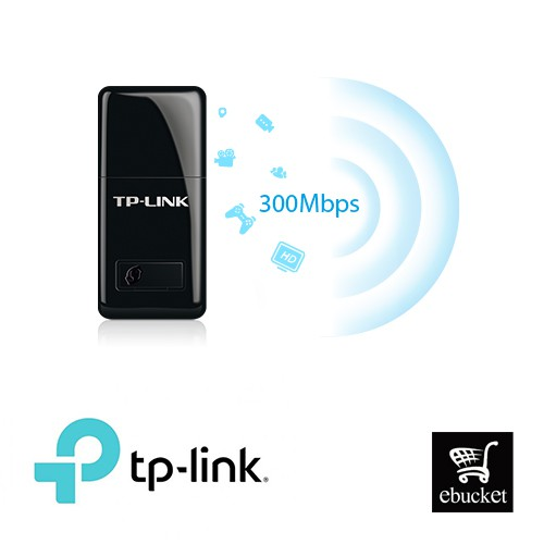 TP-LINK TL-WN823N 300Mbps Mini Wireless WiFi USB Adapter With Soft AP