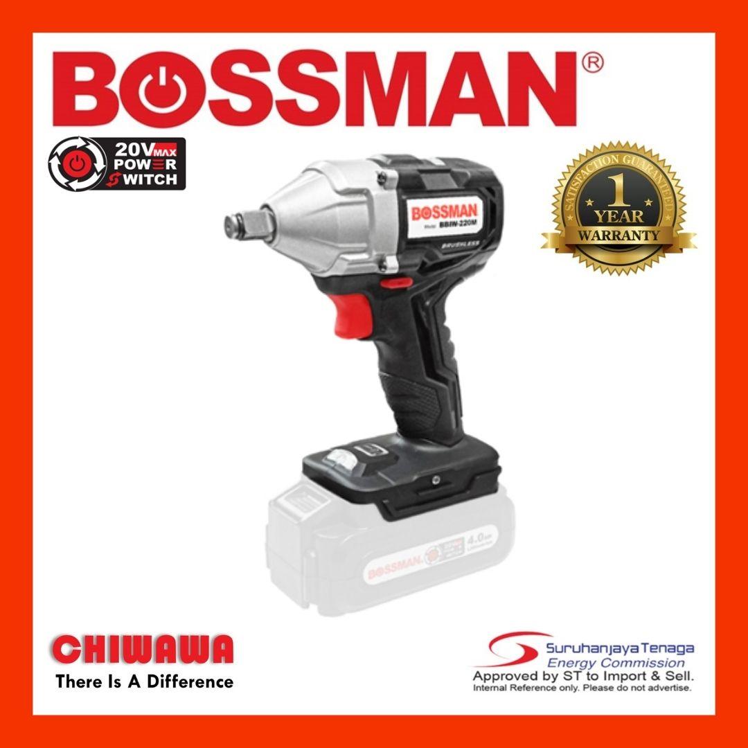 Bossman 20V Cordless Impact Wrench - BBIW-220M / BBIW220M