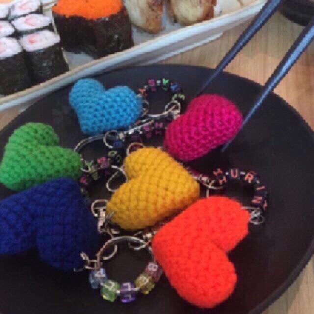 he cute couple 🐻💙🐻 #crochet #amigurumi #amigurumis #teddybear ... | 640x640