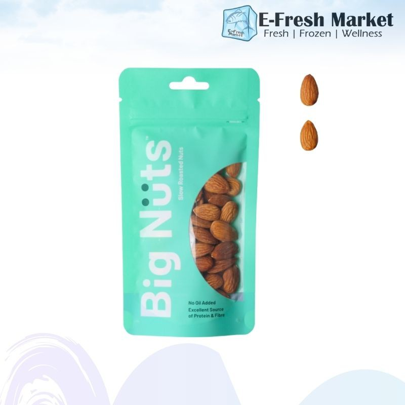 Roasted Almonds (Un-salted) 130g