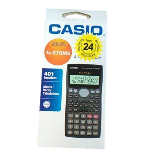 7c3032f8fe07 Casio fx-570MS Scientific Calculator With 410 Functions