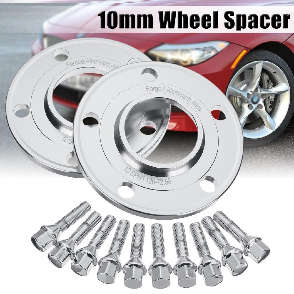 BMW MTEC E46 E90 E92 E60 10mm  Wheel Spacers Inc Bolts /& Locking Bolts