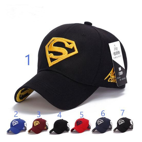 de025fd16 Ready Stock Men &Women Adjustable Superman Hip-hop Stretch Baseball Cap