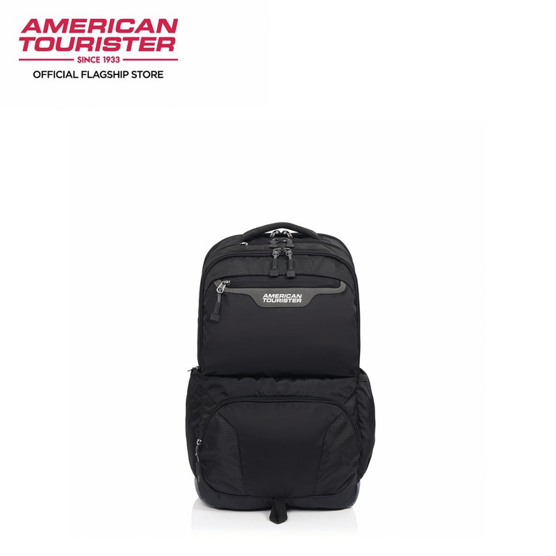 American Tourister-SCOUT-BACKPACK 4 GREY/BLACK