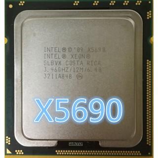 intel xeon x5690 3 46ghz 6 4gt / s 12mb six core cpu processor 1333mhz slbvx