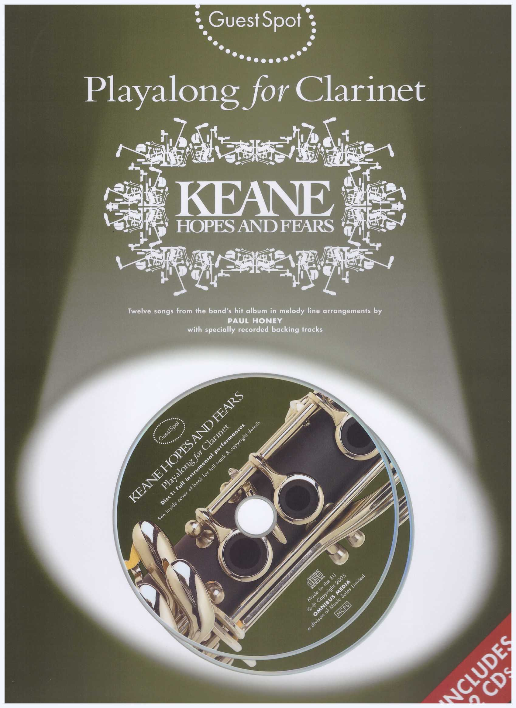 Playalong For Clarinet Keane Hopes & Fears