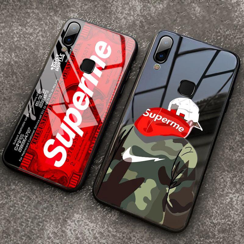 VIVO Y91 Y91i Shockproof Cover Cases Supreme Glass Phone Case