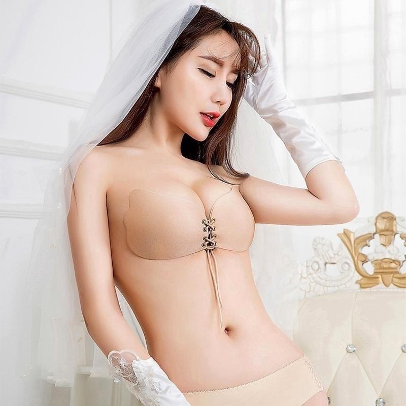 Korean Women Sexy Strapless Bras Seamless Push Up Bra Wedding Party Wear    Shopee Malaysia