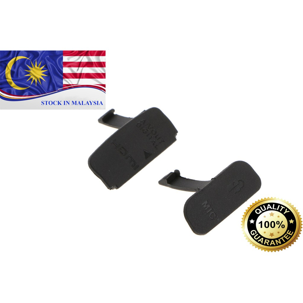 USB / AV OUT/ HDMI/ MIC Rubber Cover For Canon EOS 600D (Ready Stock In Malaysia)