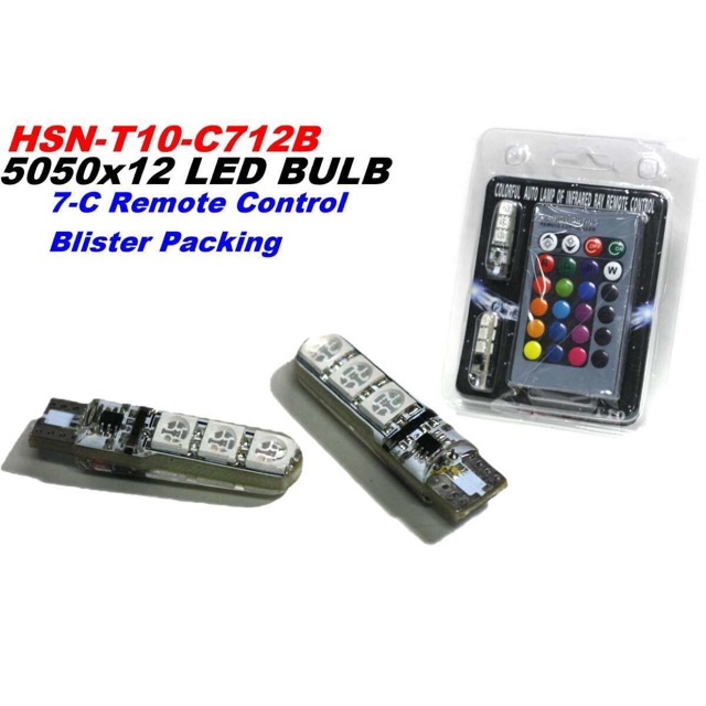 T10  led with remote