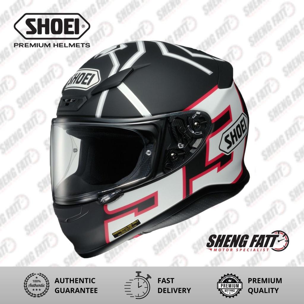 SHOEI Z7+ MARQUEZ BLACK ANT TC-5  Full Face Helmet