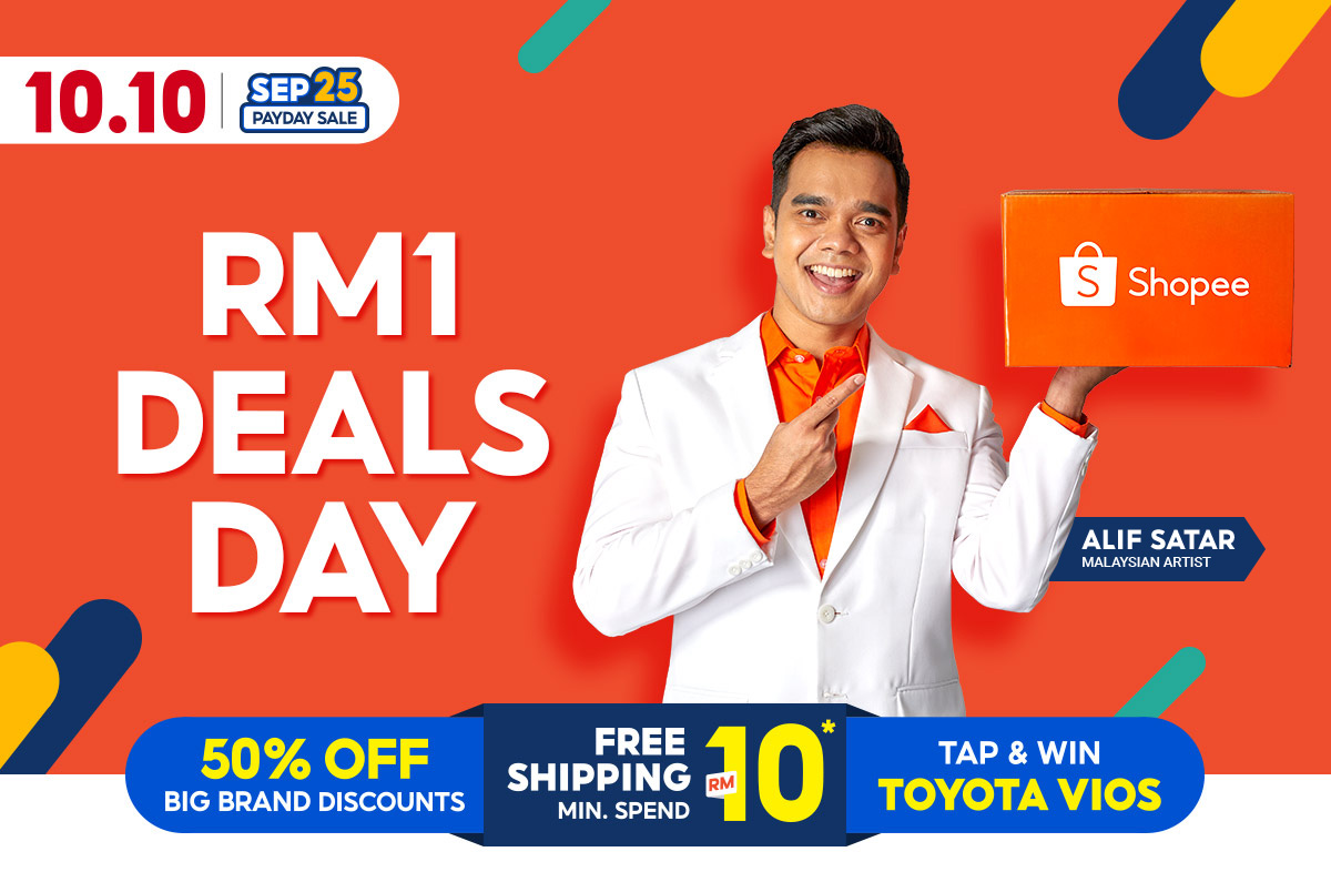 Enjoy free shipping plus great branded discounts and sales this 10.10 Shopee Brands Festival!