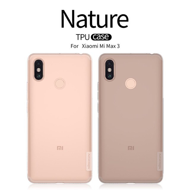 Nillkin เคสมใสแบบนิ่ม Xiaomi Mi Max 3 รุ่น Nature TPU Case 0.6mm Soft Pr