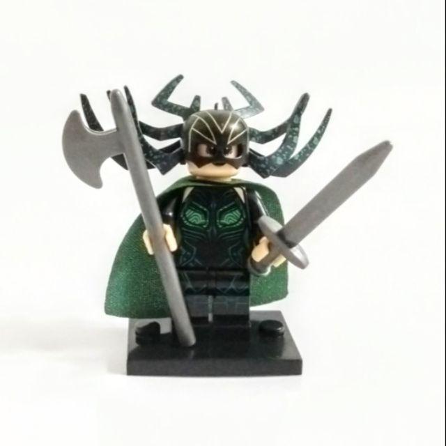 Hela Minifigure Marvel Comics Thor Ragnarok Compatible