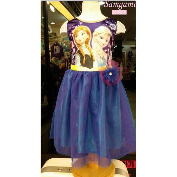 Frozen Purple Sleevesless Sisters Dress