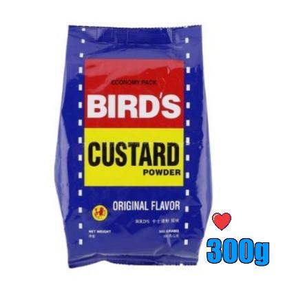 Birds Custard Powder 300g ( Free fragile + bubblewrap packing )