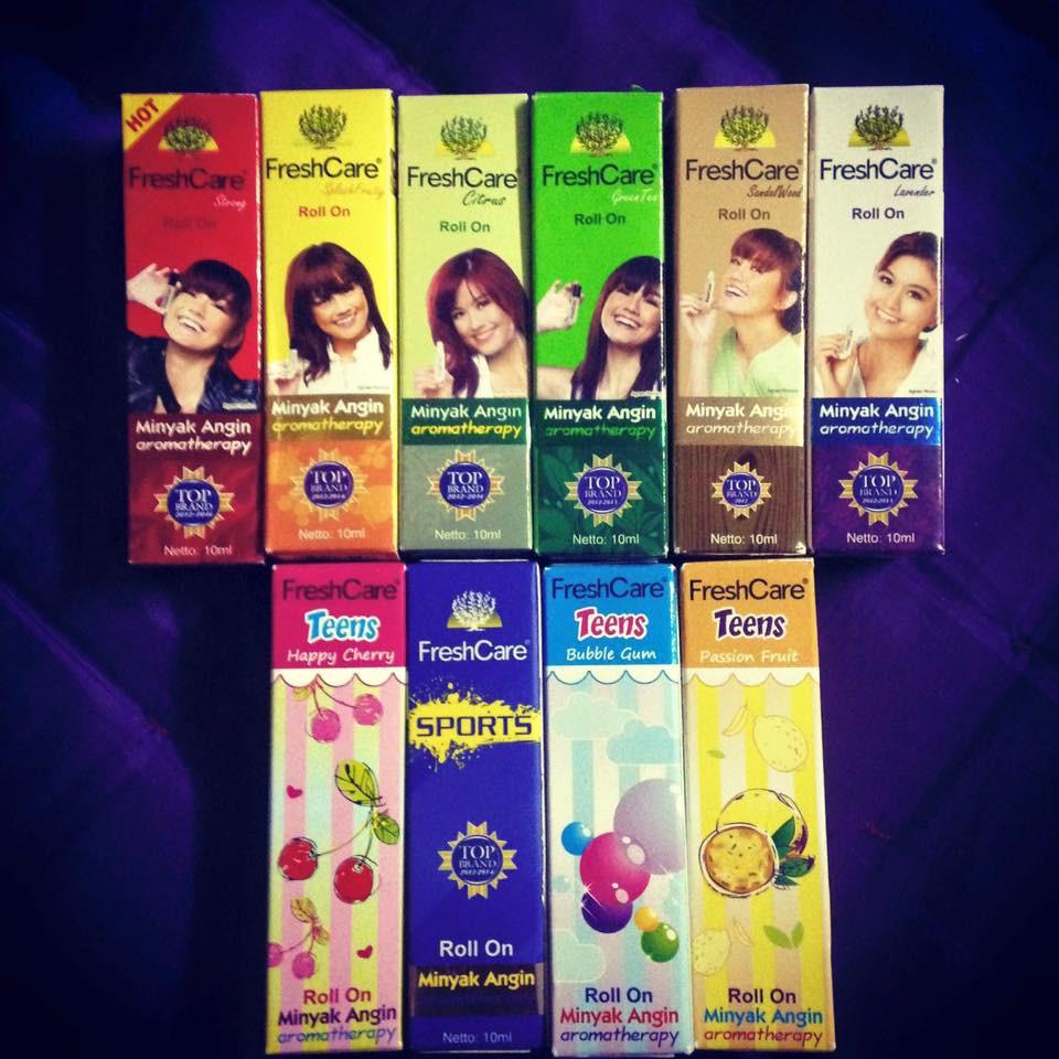 12pcs Minyak Angin Roll On Fresh Care Shopee Malaysia Freshcare Hot 10 Ml 4 Botol