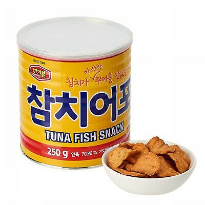 Korea Murgerbon Tuna Fish Snack 韩国金枪鱼酥脆片鲔鱼吞拿鱼零食170g | Shopee Malaysia