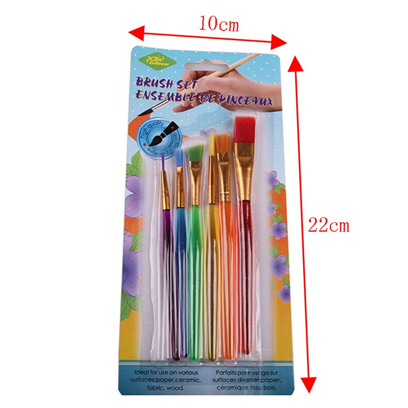 Brushes Squirrel Hair /& Horse Hair Art Painting Brushes Artistic 4pc