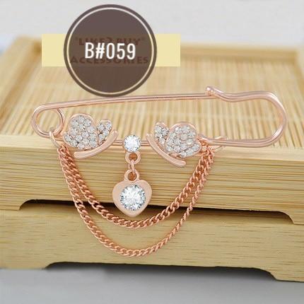 Kerongsang Pin Tudung Bawal Korean Brooch Jewellery Accessories