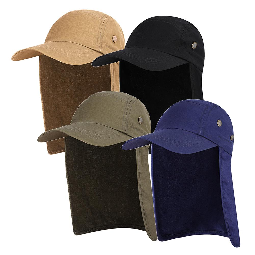 d12a4677 Foldable Visor Quick Dry UV Protection Sun Summer Ear Neck Flap Outdoor  Hiking Camping Wide Brim Fishing Hat | Shopee Malaysia