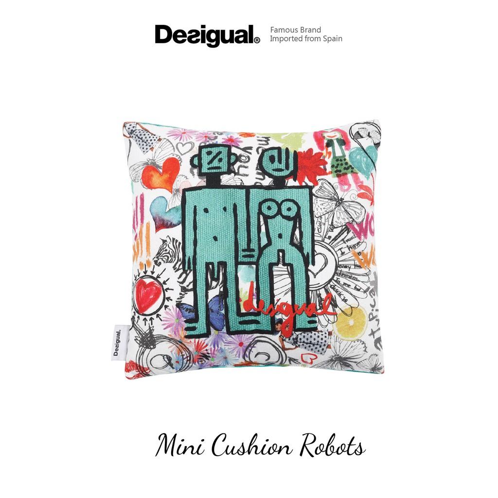 Desigual - Mini Cushion Pillow 30x30cm